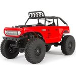 Axial 1/24 SCX24 Deadbolt 4WD Rock Crawler Brushed RTR Punainen