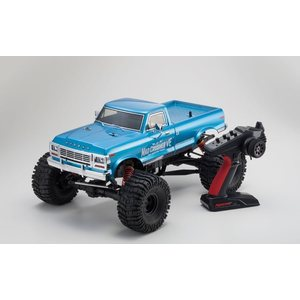 Kyosho MAD CRUSHER VE 1:8 4WD READYSET EP (KT231P-TORX8-BRAINZ8 ESC)