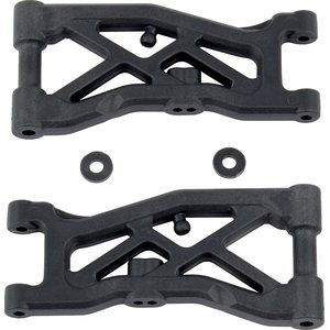 Team Associated 92129 RC10B74 FRONT SUSPENSION ARMS, HARD
