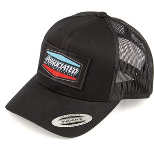 Team Associated SP432 Tri Trucker Hat, curved bill