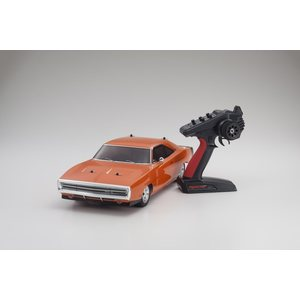 Kyosho FAZER MK2 DODGE CHARGER 1970 OR 1:10 READYSET (K.34417T1B)