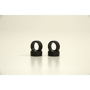Kyosho Mini-Z RACING RADIAL TYRES 30 SHORE - NARROW (4) K.MZW37-30
