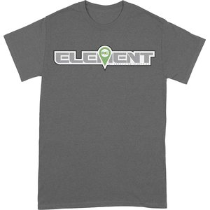 Element RC Element RC Logo T-Shirt, gray, 3XL SP200XXXL