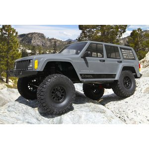Axial 1/10 SCX10 II Jeep Cherokee Brushed Rock Crawler LiPo paketti