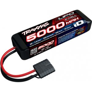 Traxxas 2842X Li-Po Battery 2S 7,4V 5000mAh 25C iD-Connector (Short)