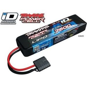 Traxxas 2869X Li-Po Battery 2S 7,4V 7600mAh 25C iD-connector