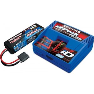 Traxxas 2992GX Charger EZ-Peak Plus 4A and 2S 5800mAh Battery Combo