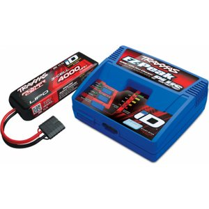 Traxxas 2994G Charger EZ-Peak Plus 4A and 3S 4000mAh Battery Combo