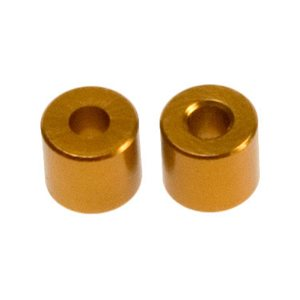Team Durango BATTERY HOLDER ALUMINIUM BUSHING 5x2x4.5mm (4pcs)