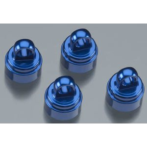 Traxxas 3767A Shock Caps Blue Aluminium (4) Ultra-Shocks