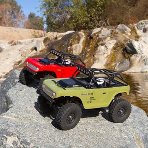 Axial 1/24 SCX24 Deadbolt 4WD Rock Crawler Brushed RTR