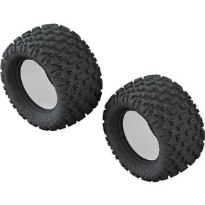 ARRMA RC 1/10 dBoots Fortress Monster Truck Front/Rear 2.8 Tire & Inserts (2) (AR520045)