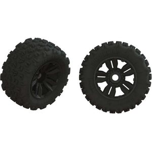 ARRMA RC ARA550061 Dboots 'Copperhead2 SB MT' Tire Set Glued (1 Pair)