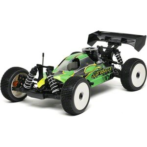 JQ Racing THECar RTR Nitro Green Body by JQRacing