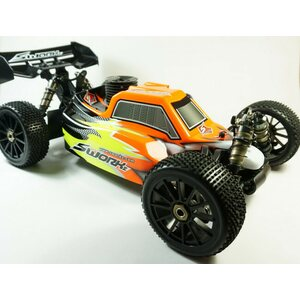 SWorkz Apollo 1/8 Nitro Power Buggy Pro RTR with Prepainted Body