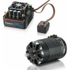 Hobbywing Xerun XR8 Plus Combo with 4268-1900kV for 1:8 Buggy