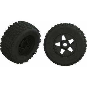 ARRMA RC ARA550064 dBoots BACKFLIP Tire Set Glued (1pr)
