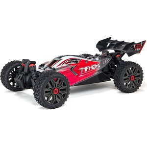 ARRMA RC TYPHON 4X4 3S BLX Brushless 1/8th 4wd Buggy Red
