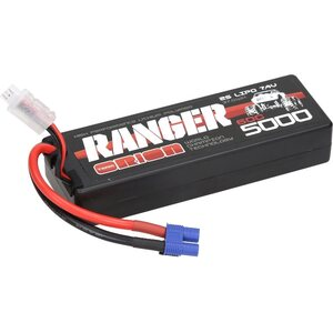 Team Orion 2S 60C Ranger  LiPo Battery (7.4V/5000mAh) EC3 ORI14314