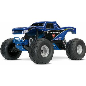Traxxas BIGFOOT 2WD 1/10 RTR TQ Blue