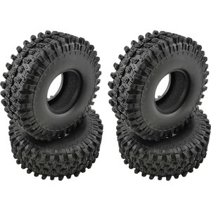 "ValueRC Crawler Tires with Foams for 1.9"" Wheels E 4pcs/set"