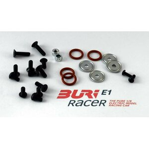 Buri Racer Screw set front axle