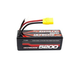Ultimate Racing 4S 14.8v. 5200 mAh 60C LIPO BATTERY STICK PACK XT90