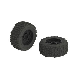 ARRMA RC AR510092 dBoots Backflip MT 6S Tire Wheel Set (ARAC8795)