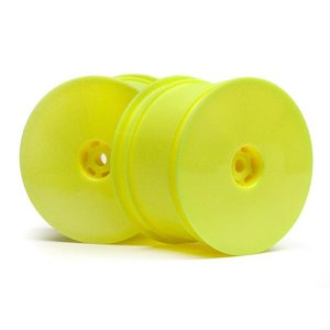 HB Racing 1/10 REAR WHEEL (YELLOW/2PCS)