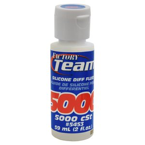 Team Associated 5453 FT Silicone Diff Fluid 5000cst, for gear diffs