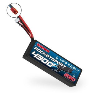 Team Orion Rocket Sport 4300 LiPo 11,1V (Deans Plug)