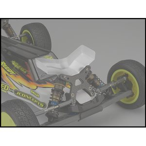 JConcepts 0158 Aero B6 | B6D | B6.1 front wing, Fits flat front arm - narrow, 2pc