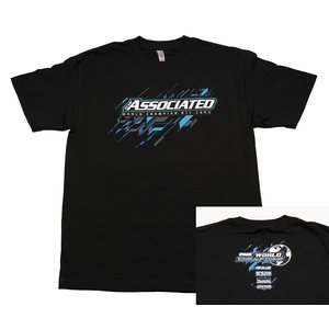 Team Associated 2017 Worlds T-Shirt, black, S