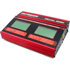 Ultimate Racing ULTIMATE PRO-10 DUAL TOUCH BATTERY CHARGER UR4202