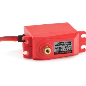 ARRMA RC AR390139 ADS-15M V2 15KG WATERPROOF SERVO (RED)