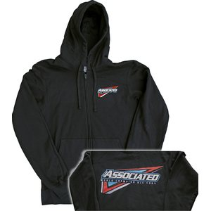 Team Associated Tri Zip-Up, black, M