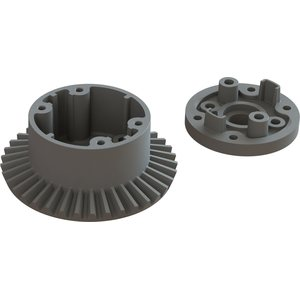ARRMA RC DIFF CASE SET 37T MAIN GEAR AR310872 (ARAC4022)