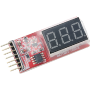 ValueRC 1-6S Battery Voltage Indicator