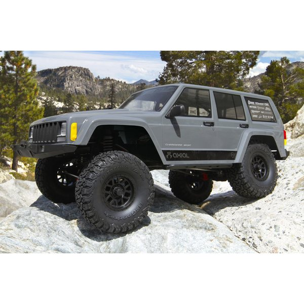 Axial 1/10 SCX10 II Jeep Cherokee Brushed Rock Crawler 4WD RTR AX90047