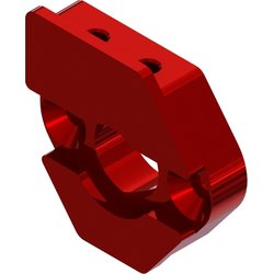 ARRMA RC ARA320469 SLIDING MOTOR MOUNT PLATE (RED)