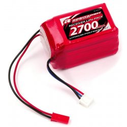 Robitronic LiPo RX Pack 2/3A Hump Size 2700mAh 7,4V (EH)