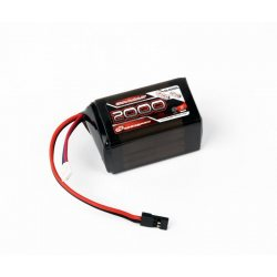 Robitronic LiFe 6,6V 2000mAh, 2/3A Hump Size RX pack (EH)
