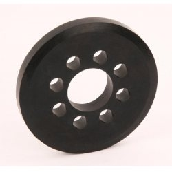 Robitronic Spare Rubber Wheel 76mm for Robitronic Starterbox