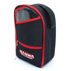 Sanwa Transmitter Carrying Bag 2 (black/red)