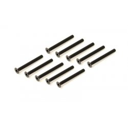 Team Durango FLAT HEAD HEX CS SCREW M3x30mm (10pcs)