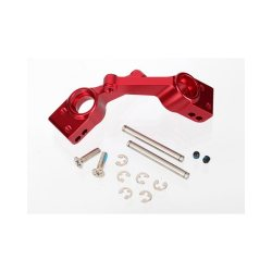 Traxxas Carriers stub axle red alu