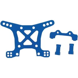 Traxxas Aluminum Front Shock Tower (Blue)