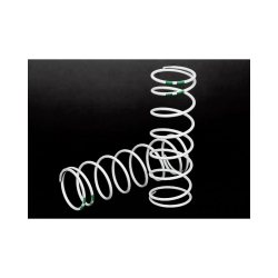 Traxxas GTR Shock Spring, XXLong, White (Green 0.762) (2)