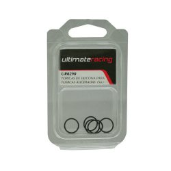 Ultimate Racing SPARE SILICONE O-RING FOR LIGHT COVERED WHEEL NUT (5pcs.)