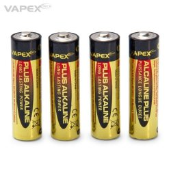 Vapex Plus Alkaline batteries AA 4pc